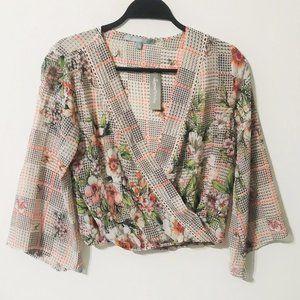 Sweet Rain Floral Kimono Floral Top